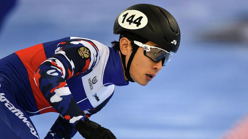 Елистратов завоевал серебро на дистанции 3000 м на ЧМ по шорт-треку