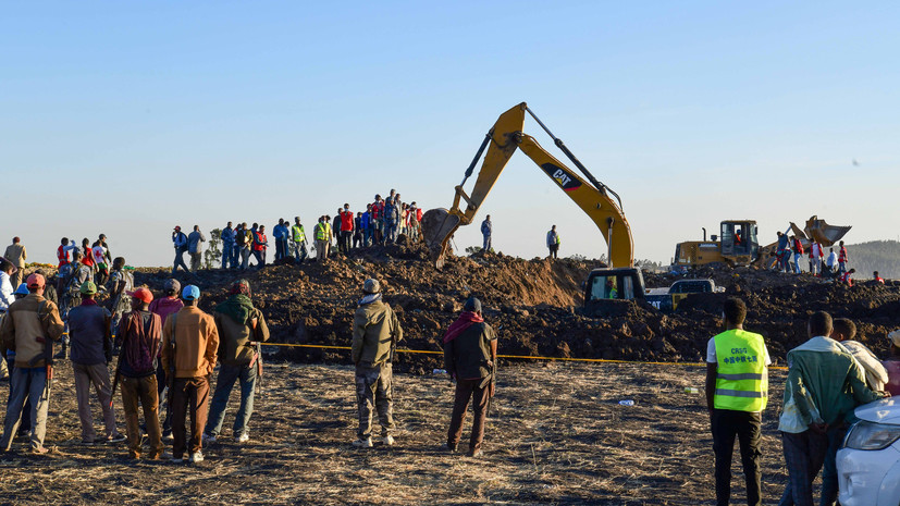 На борту упавшего в Эфиопии самолёта находились сотрудники ООН