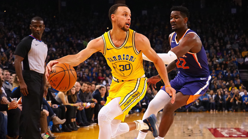 «Голден Стэйт» потерпел четвёртое поражение в шести матчах в НБА, уступив «Финиксу»