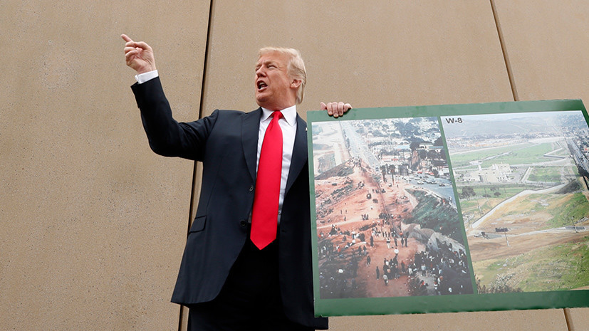 Денежная граница: как Трамп собирается добиться выделения дополнительных средств на строительство стены