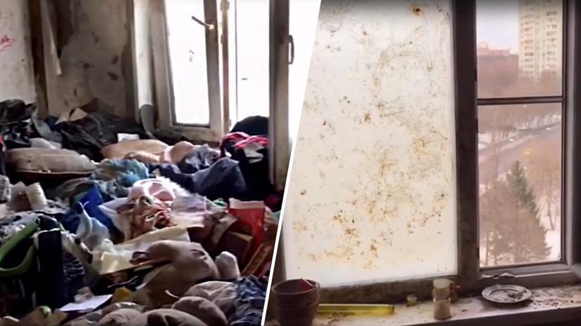 Врач сообщил об улучшении состояния брошенной в московской квартире девочки
