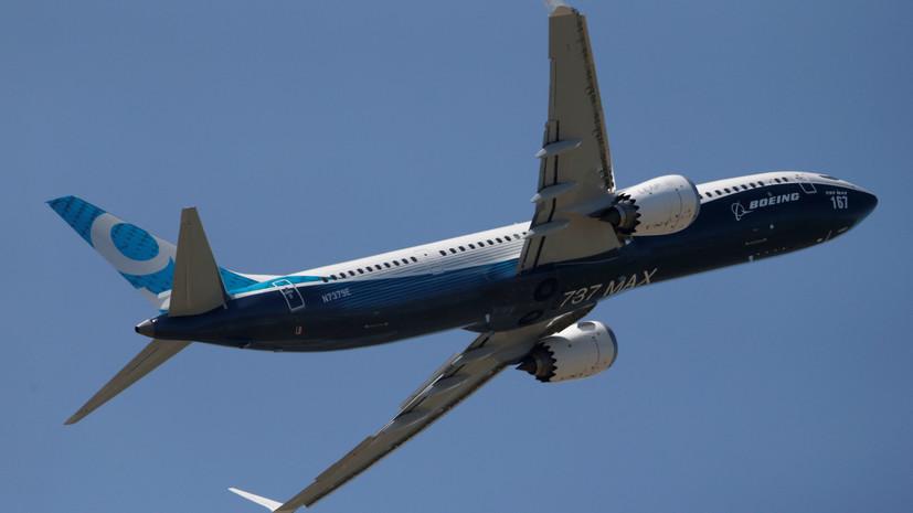 В Великобритании приостановили полёты Boeing 737 MAX