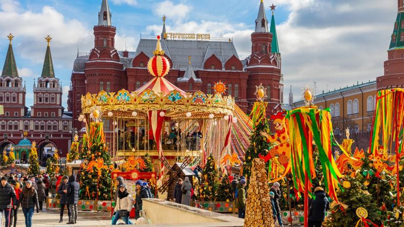 На фестивале «Московская Масленица» побывали почти 5 млн человек