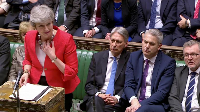Британские парламентарии вновь отвергли соглашение с ЕС по Brexit