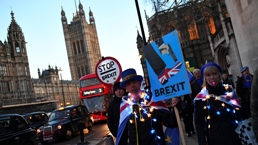 «Мэй полностью утратила рычаги власти»: как Великобритания оказалась на пороге «жёсткого» брексита