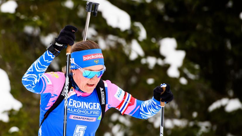 Губерниев рассказал, в какой гонке российские биатлонистки могут завоевать медаль на ЧМ