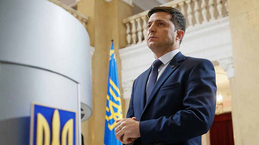 Зеленский продолжает лидировать в президентском рейтинге на Украине