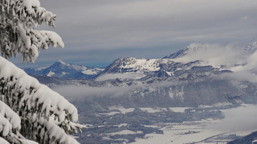 Во Французских Альпах погиб российский турист