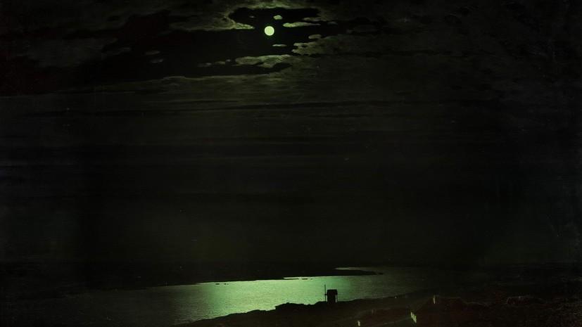Картину Куинджи «Ночь на Днепре» вернули из Третьяковской галереи в Крым