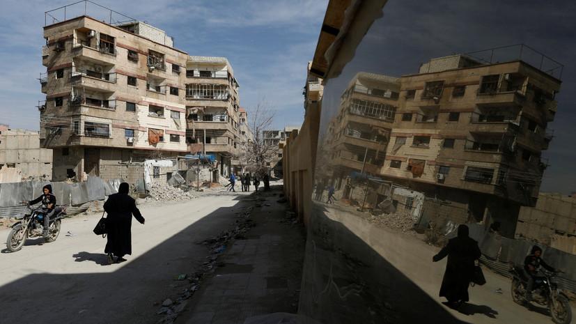 Германия выделит Сирии €1,44 млрд для гуманитарной помощи населению