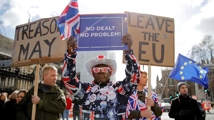 «Неумная и непоследовательная политика Мэй»: почему Великобритания вынуждена отсрочить брексит