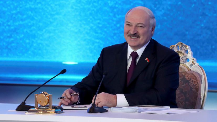Лукашенко заявил, что выборы в Белоруссии должны стать праздником