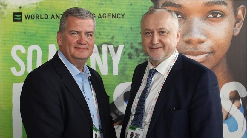 Ганус встретился с главами международных антидопинговых агентств и руководством iNADO