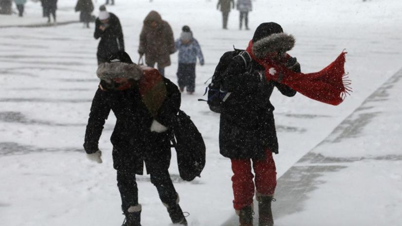 В Москве продлили «жёлтый» уровень погодной опасности на 15 марта