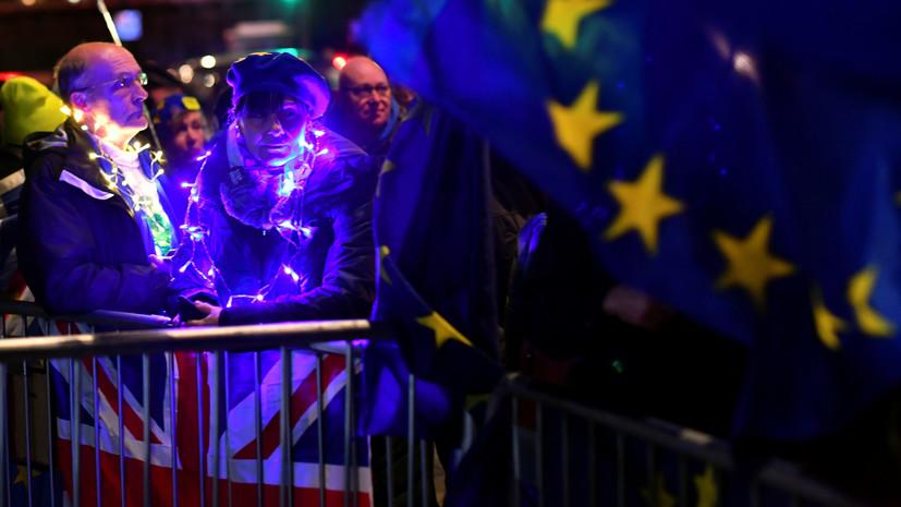 Парламент Британии отверг идею отсрочки брексита и повторного референдума