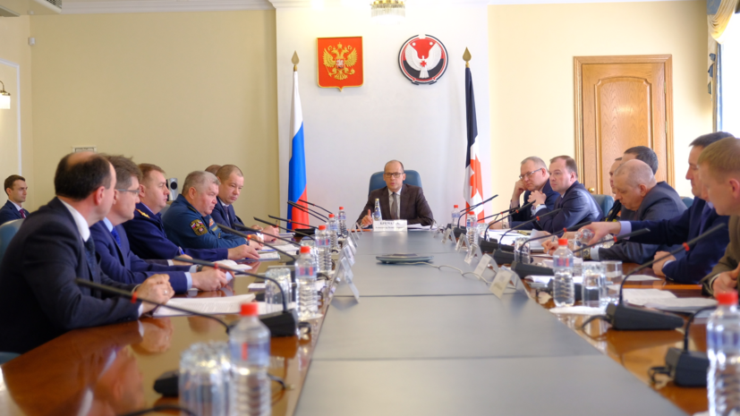 В Удмуртии прошло заседание антитеррористической комиссии