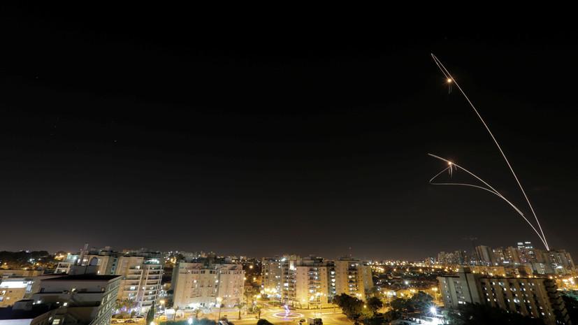 В Израиле заявили о запуске двух ракет со стороны сектора Газа