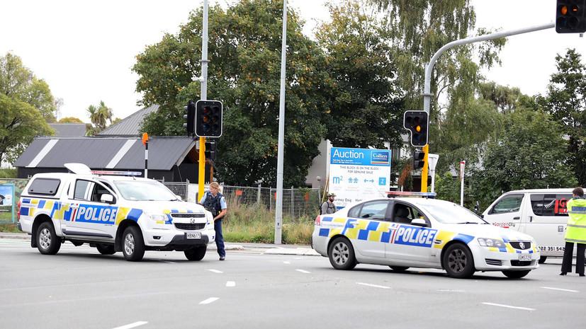 Полиция обезвредила самодельные бомбы в Крайстчерче