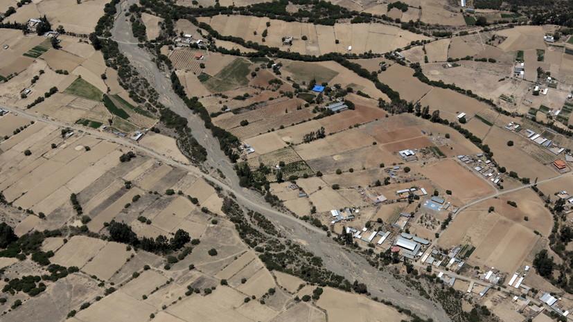 В Боливии произошло землетрясение магнитудой 6,3