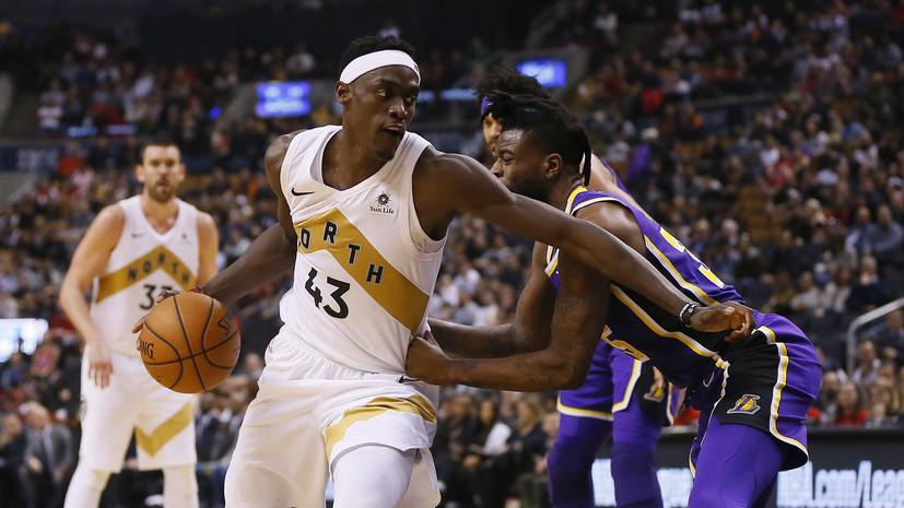 «Лейкерс» уступил «Торонто» в НБА, несмотря на 29 очков Джеймса
