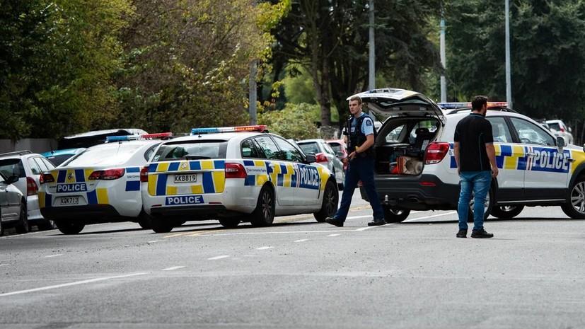 В новозеландском Окленде полиция произвела контролируемые взрывы