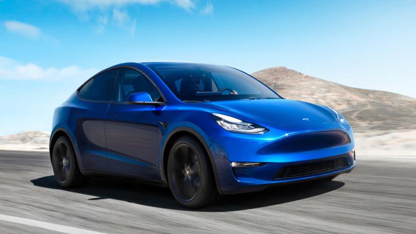 Tesla представила новый автомобиль Model Y