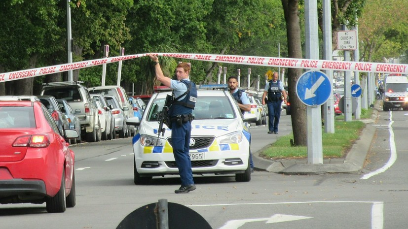 В полиции назвали хорошо спланированной атаку в Новой Зеландии