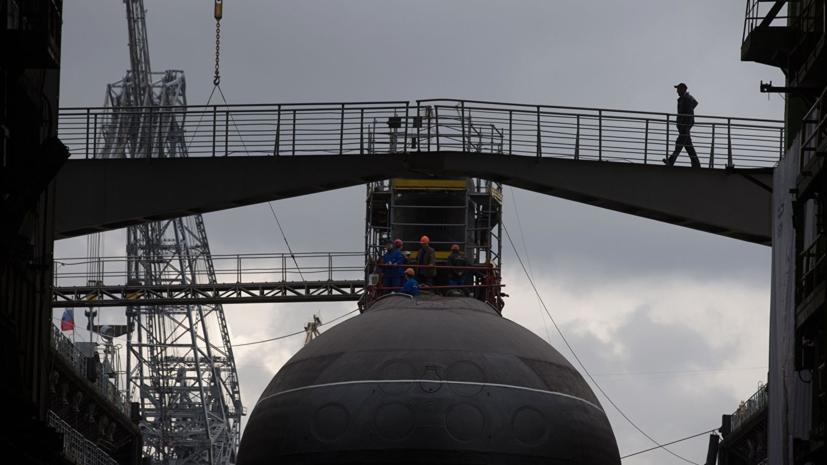Экипаж подлодки «Старый Оскол» ведёт подготовку к выходу в море