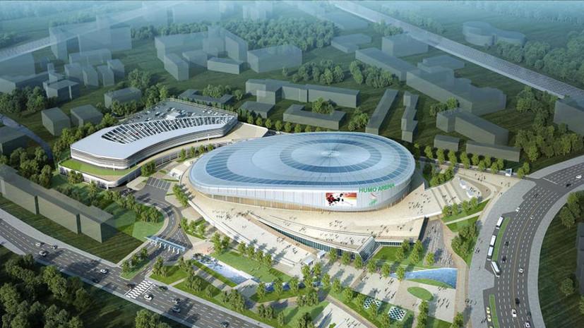 Хоккейная птица счастья: российские звёзды спорта открыли ледовый дворец «Хумо Арена» в Ташкенте