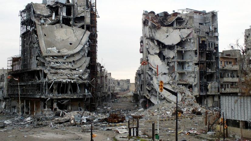Запад назвал условие для участия в восстановлении Сирии