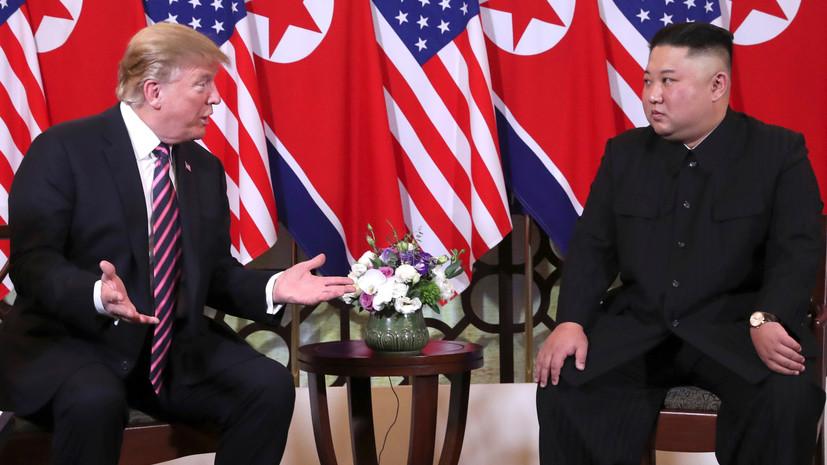 «Жёсткий вариант торга»: почему в КНДР заявили о возможном отказе от диалога с США