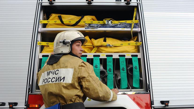 Пожар в цехе по производству полистирола в Благовещенске ликвидирован