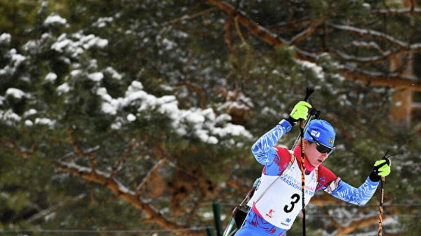 Казакевич и Сливко стали призёрами спринта на этапе Кубка IBU в Мартелле