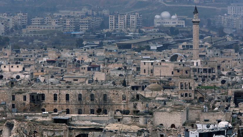 В ЦПВС сообщили об обстреле боевиками двух провинций в Сирии
