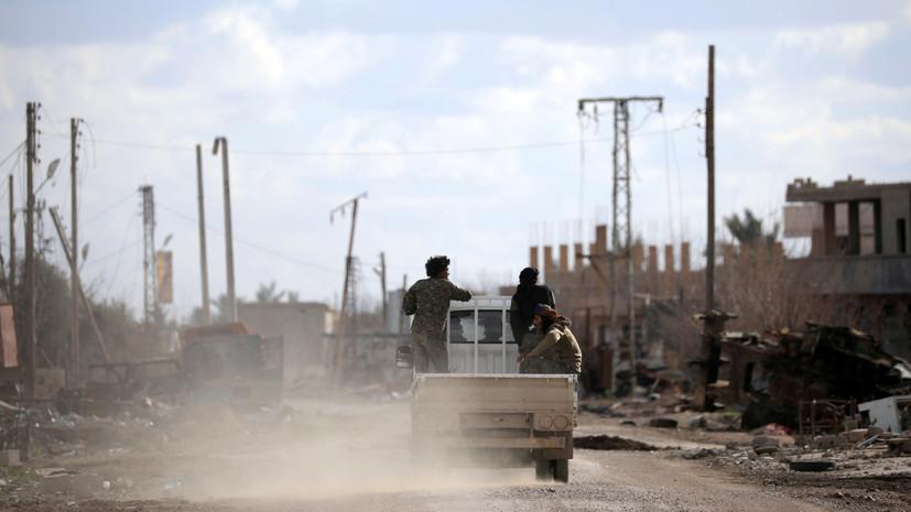 В Дейр эз-Зоре при взрыве погибли четыре человека и 36 пострадали