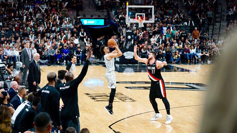 «Сан-Антонио» добыл восьмую победу подряд в НБА