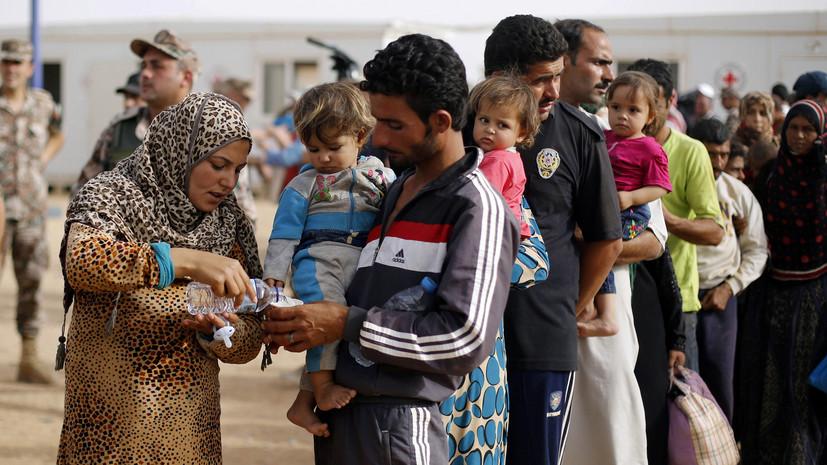 В Сирии беженцы заплатили боевикам по 0 за выход из лагеря«Эр-Рукбан»