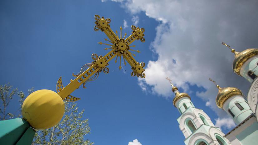 В Киеве неизвестные осквернили и ограбили храм УПЦ