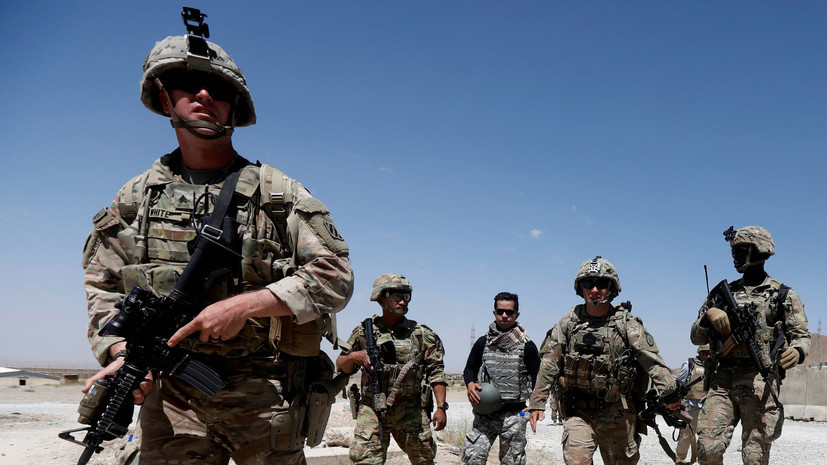 В Афганистане разбился американский беспилотник