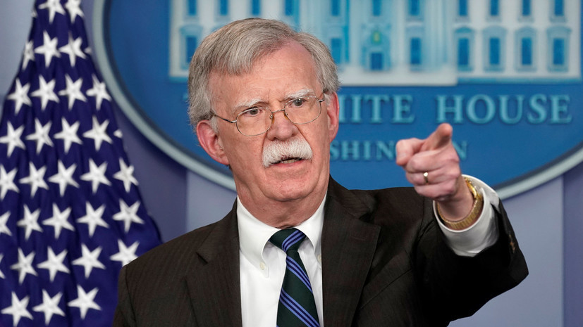 В Кремле прокомментировали слова Болтона о переговорах по разоружению