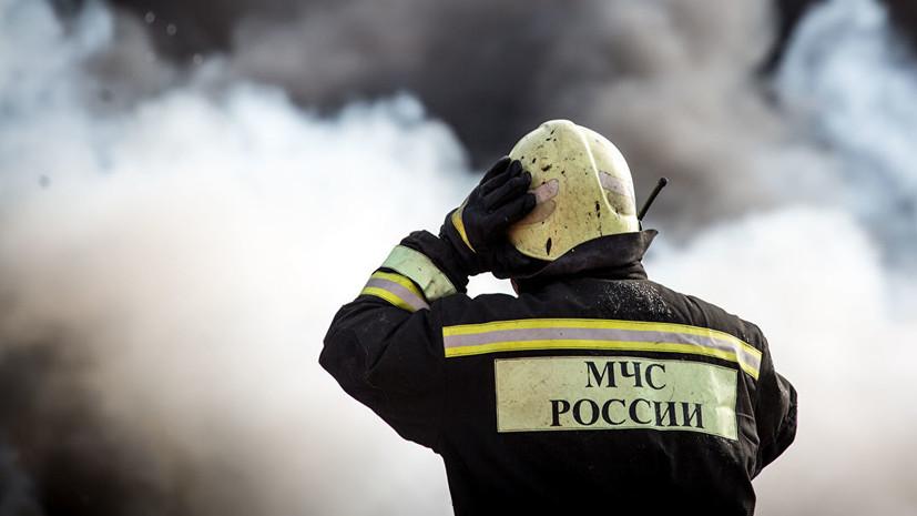 В Хакасии ликвидировали пожар на заводе «Искож»