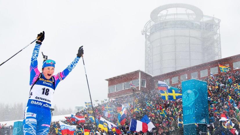 Биатлонистка Юрлова-Перхт призналась, что думала завершить спортивную карьеру после 2018 года