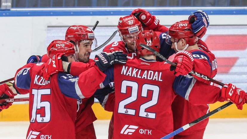 «Локомотив» сократил отставание серии второго раунда плей-офф КХЛ, обыграв СКА