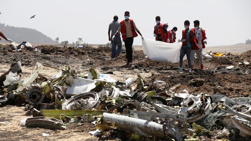 Данные бортовых самописцев указывают на сходство авиакатастроф в Эфиопии и Индонезии