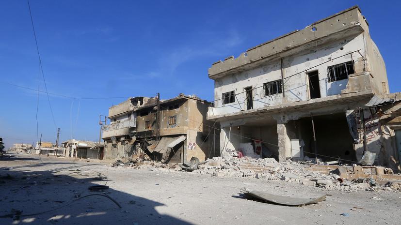 Один ребёнок пострадал в результате взрыва мины в Сирии