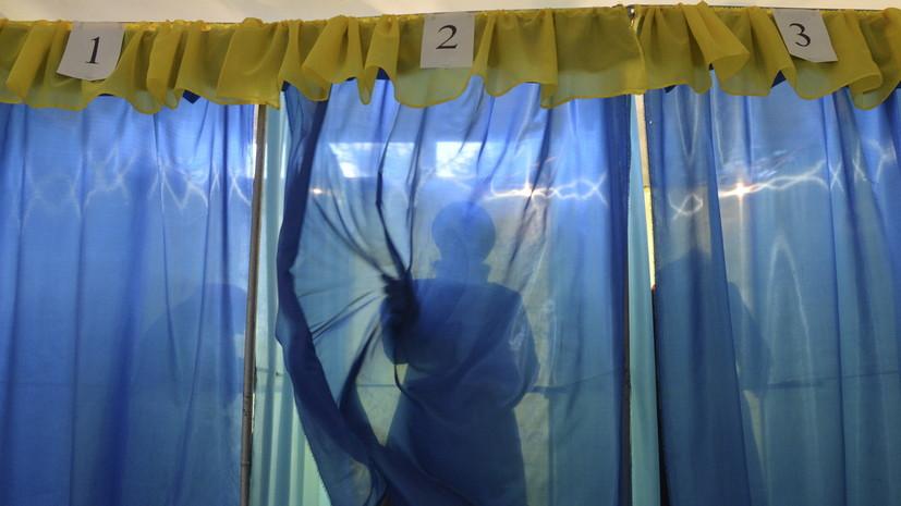 В МВД Украины предупредили об ответственности за селфи в избирательной кабинке
