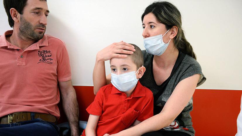 Названы самые распространённые детские заболевания в России