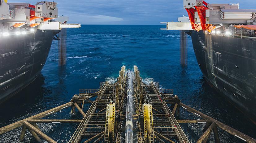 «Без посредников»: строители соединили наземную и морскую части «Турецкого потока»