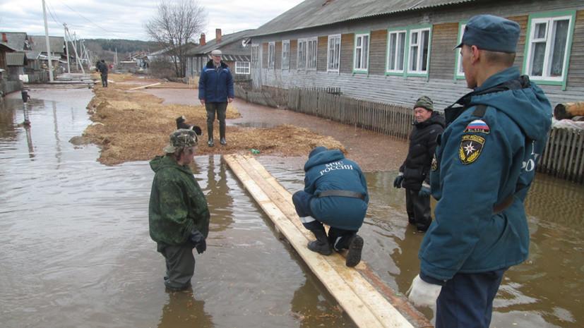 В Удмуртии предупредили о возможном подтоплении из-за паводка