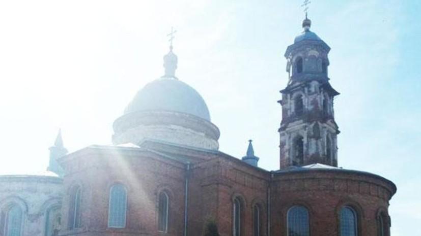 В Сумской области Украины обокрали храм